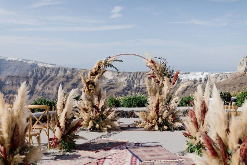 Tie the Knot in Santorini - Weddings & Events