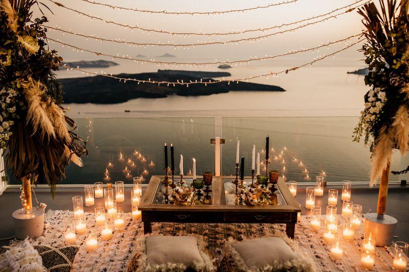 Bohemian destination wedding
