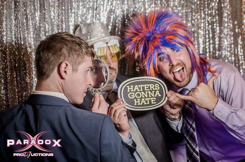 Haters gonna hate photo booth