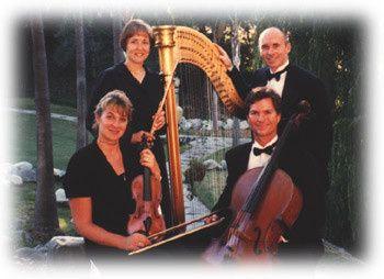 Harp Quartet at Rancho Capistrano