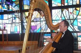 Harpist Brian Noel