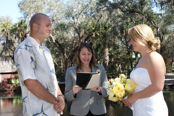 Marriage Ceremony at Juniper Springs
