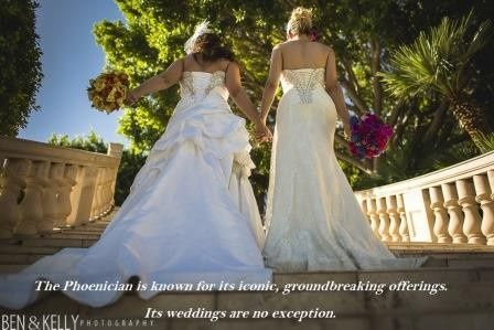 The Phoenician is known for its groundbreaking offerings.  Our weddings are extraordinary!