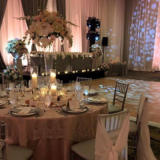 Our Grand Ballroom has an elegant & classic look!
