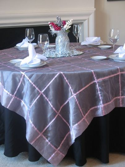 Ribbon tablecloths