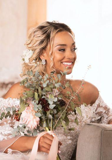 Bridal Hairstyling and Makeup