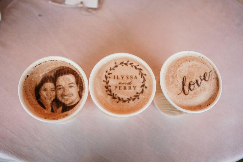 Custom Print Edible Latte Art