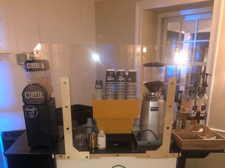 Tmx Coffee Cart Indoors 51 1014084 161081244050126 Red Bank, NJ wedding rental