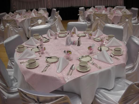 White and pink theme