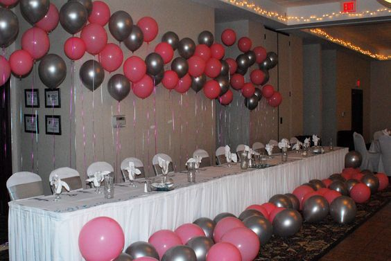 Balloons setup