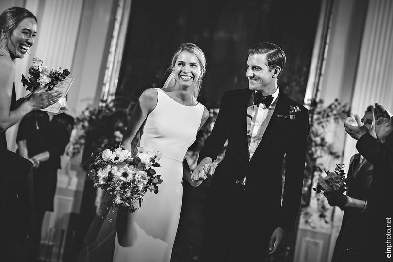 Shannon and Brooks at the Union Club. Photo: Ein Photography