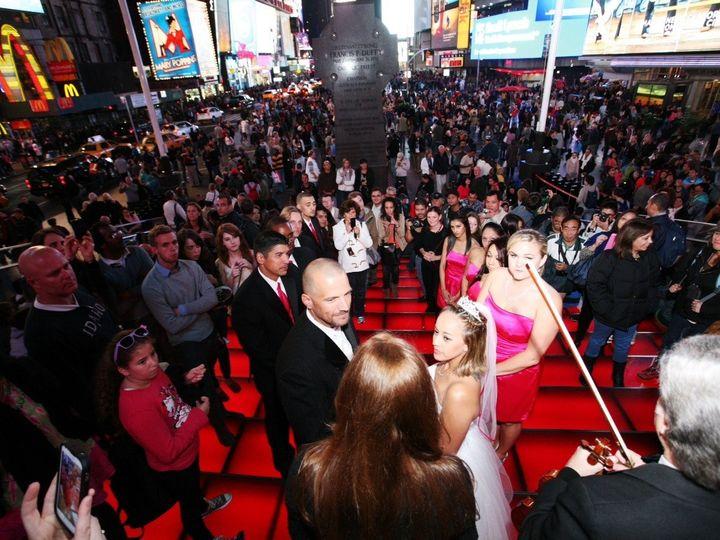 Tmx 1390587750178 Times Square Eva And Jeremy 9 29 12 Brooklyn, NY wedding officiant