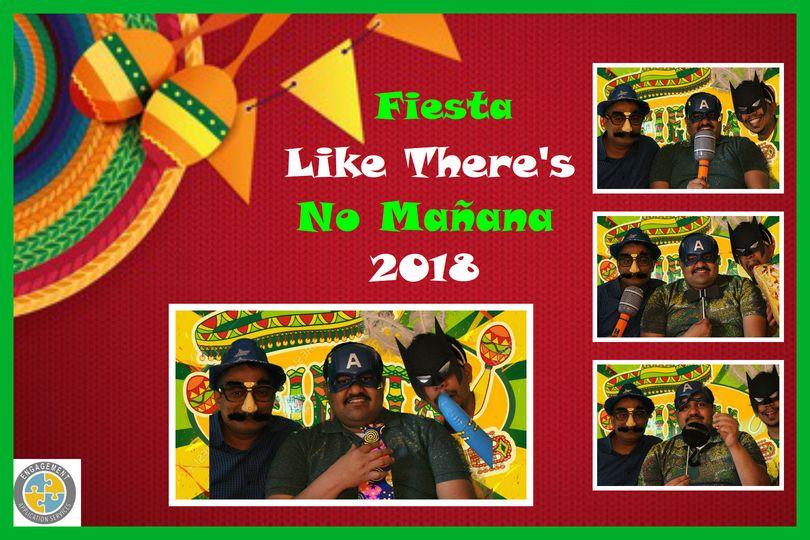 4-shot fiesta photo booth
