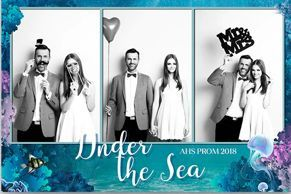 Three-shot prom template