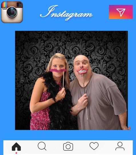 Instagram frame prints