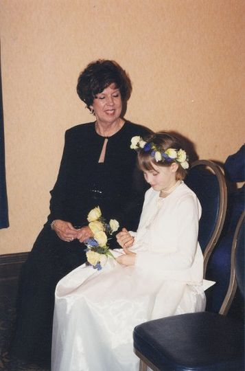 Rev. Leslie with London Flower Girl