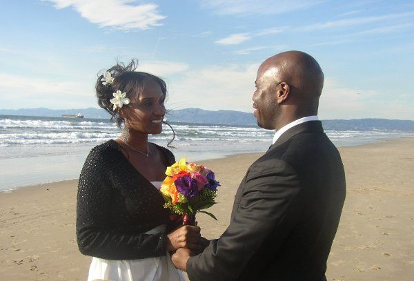 Tmx 1309997615454 BeachWeddingDesmondandTia001 Playa Del Rey wedding officiant