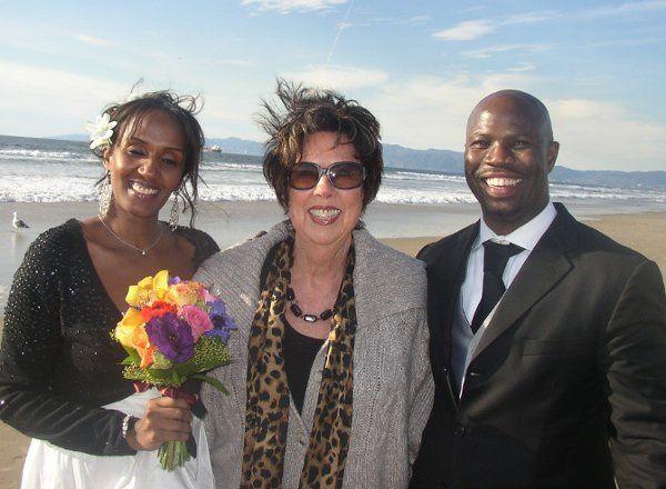 Tmx 1309997670469 BeachWeddingDesmondandTia006 Playa Del Rey wedding officiant
