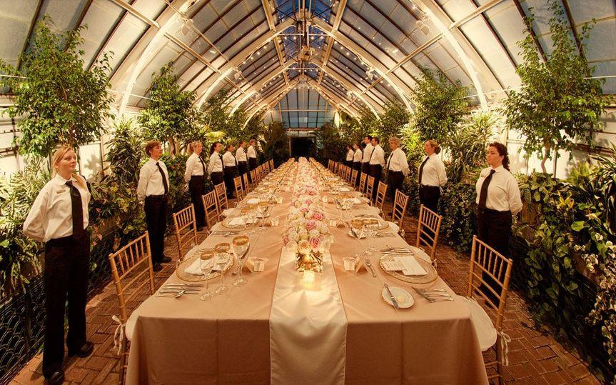 formal italian wedding dinner