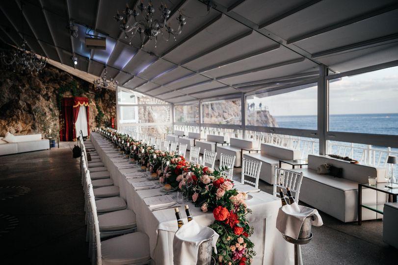 King wedding table
