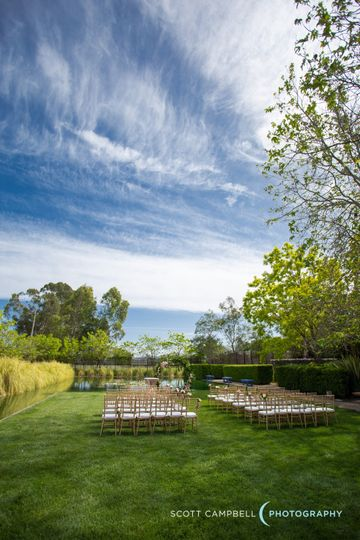 Lily Pond + Ceremony Lawn