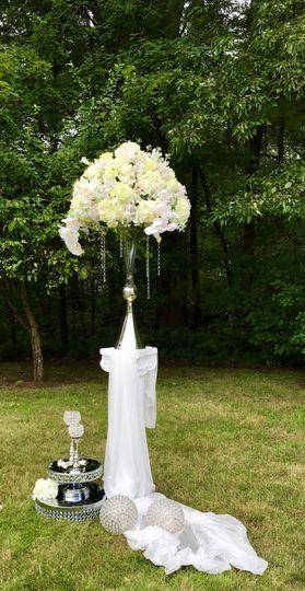 Flower arrangements for Altar