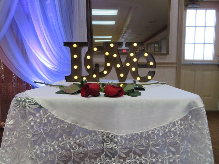 Engagment Rings table decor