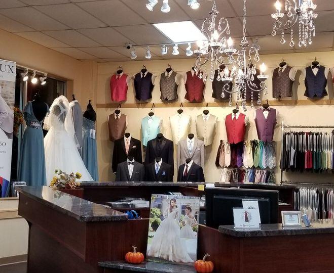 Tuxedo & suit department