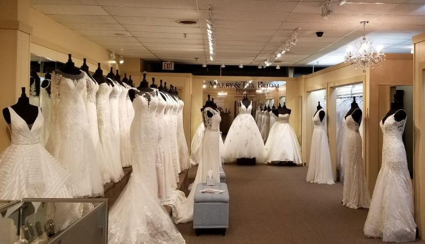 One of our Bridal showrooms!