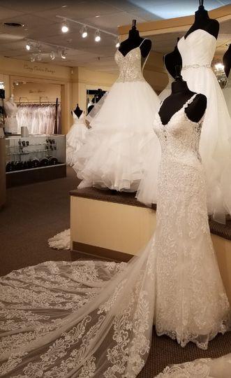 Wedding dress showroom!