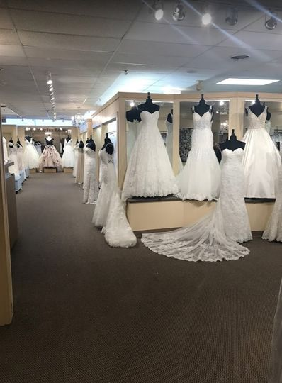 Our bridal showroom!