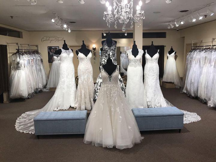 Plus size wedding dress dept.