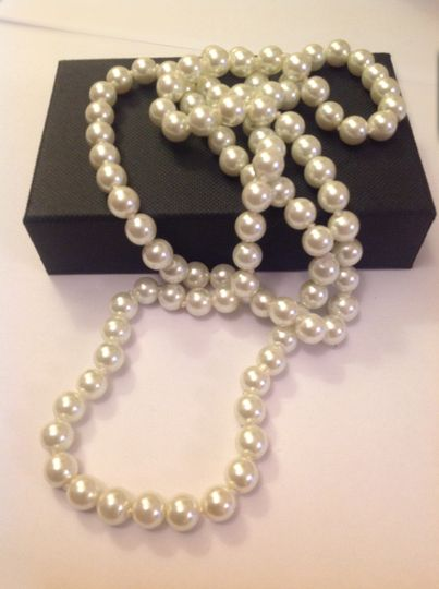 classic pearl bead necklace refined