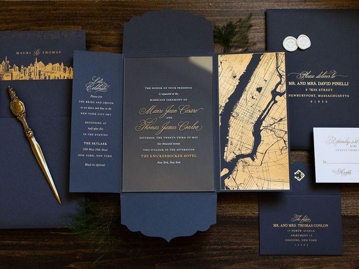 Tmx City Map Acrylic Folder Wedding Invitation 1 51 949084 158161048629198 Old Bridge, NJ wedding invitation