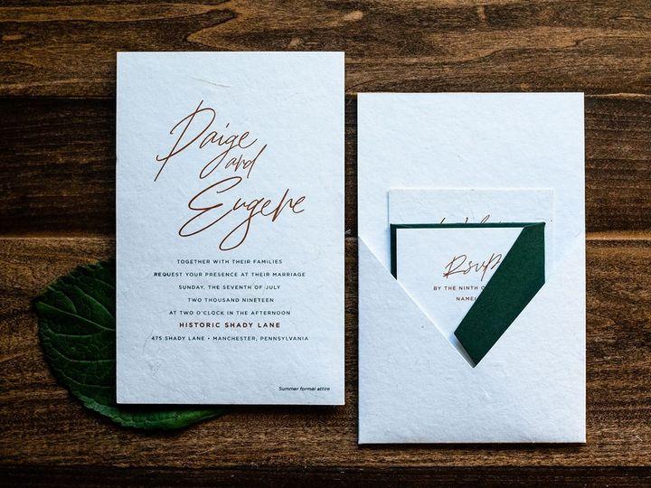 Tmx Contemporary Copper Wedding Invitation 3 51 949084 158161048736211 Old Bridge, NJ wedding invitation