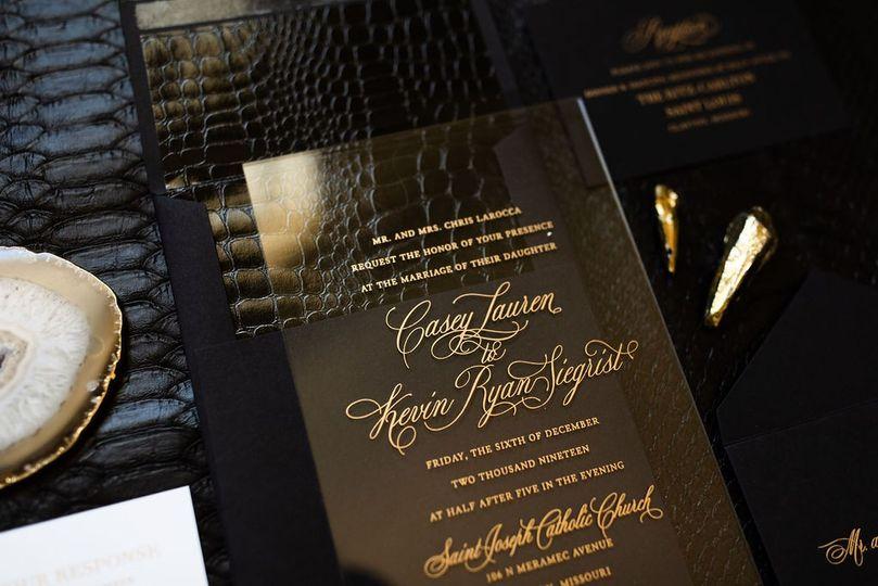 unique chic acrylic wedding invitation 2 51 949084 158161048799857