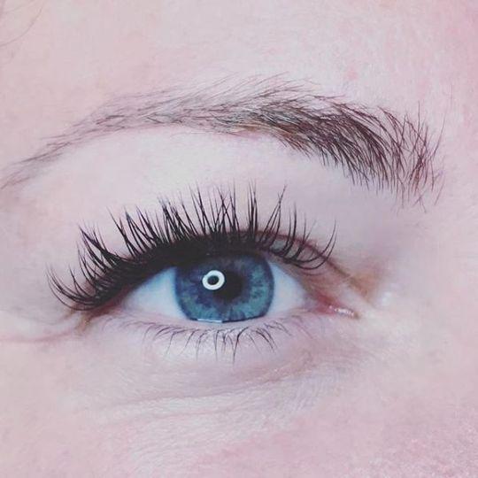 Eyelash work details