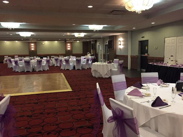 Tmx Ballroom Hallway Side 51 30184 Kulpsville, PA wedding venue