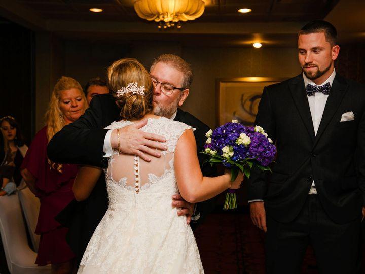 Tmx Ceremony Dad Giving Bride Away Embracing 51 30184 Kulpsville, PA wedding venue