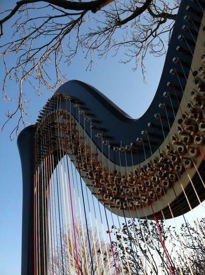 harp angle