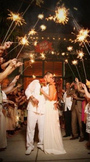 wedding sparklers 1
