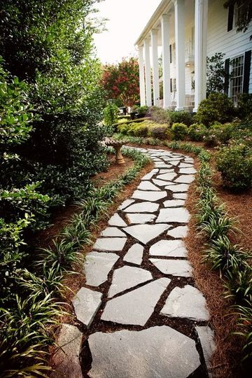 Side path to the gardens