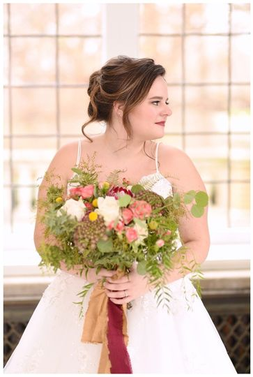 indianapolis indiana laurel hall wedding beauty an