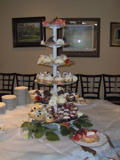 gurka cheesecake tower