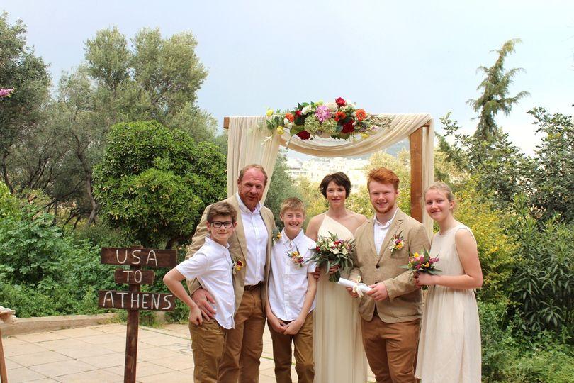 Wedding under the Acropolis
