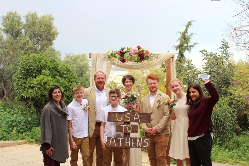 Wedding of Derek and Sarah