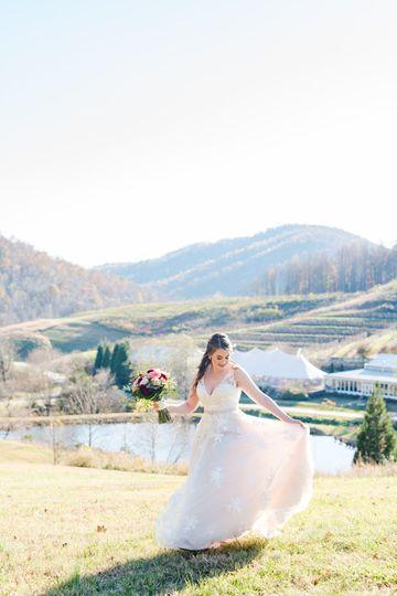 Bride | DelFosse Vineyards