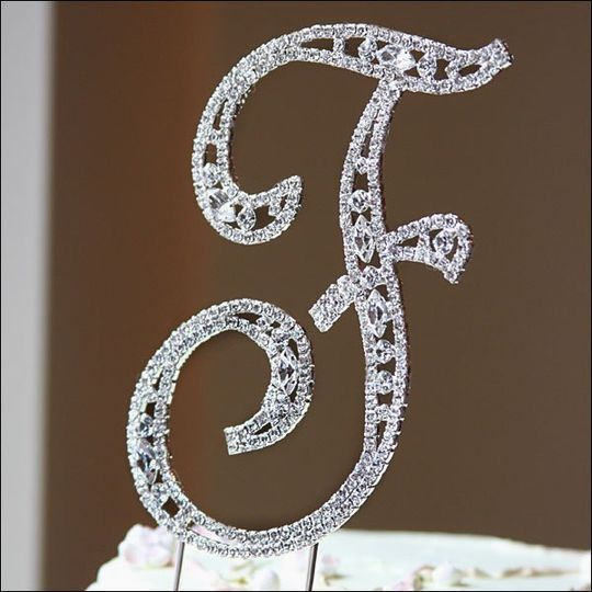 wedding cake topper letter g wedding depot favors amp gifts franklin tn weddingwire 26348