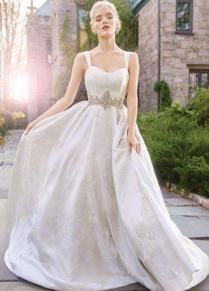 Tmx 1464737559439 Alvina Valenta Bridal Marbled Jacquard Ball Gown P Rochester wedding dress