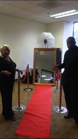 The Magic Mirror Photo Booth is the latest most interactive Photo Booth on the market.  It is...